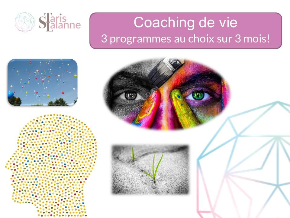 Programme 3 mois Coaching de vie