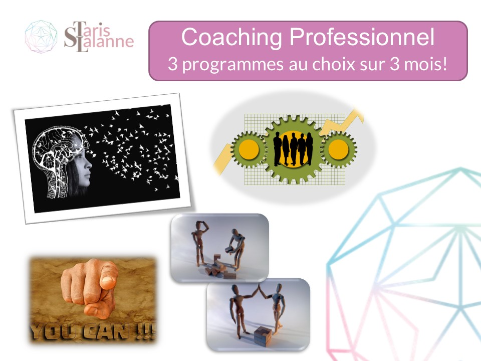 Programme 3 mois Coaching professionnel